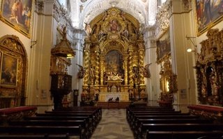 The church and hospital of Santa Caridad is a seventeenth-century ...