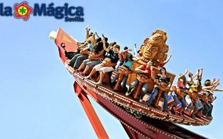 Isla Mágica is a theme park located in Seville, set ...